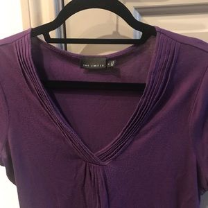 Purple top from The Limited